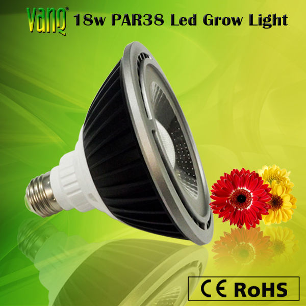 E27 18W COB led flower grow bulb 660nm 730nm for blooming stage