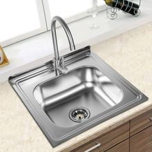 kitchen accessory stainless steel sand pearl sink made in turkey