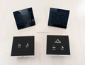 Consice Hotel Room Survice Controller Touch Do not disturb Switch Light Display with Power Switch