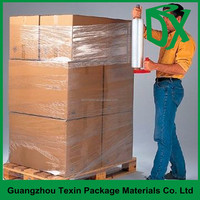 Best selling rolls hand pallet shrink wrap lldpe stretch film