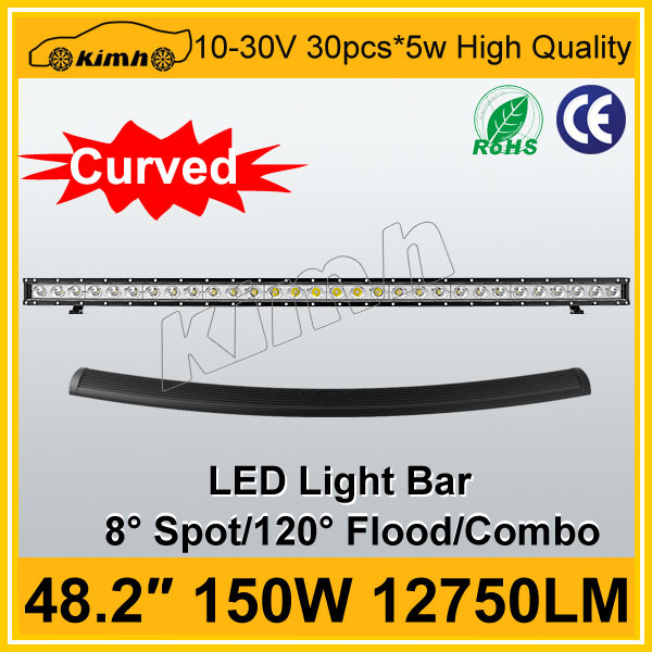 Auto part 4x4 jeep off road led light bar for agriculture machinery
