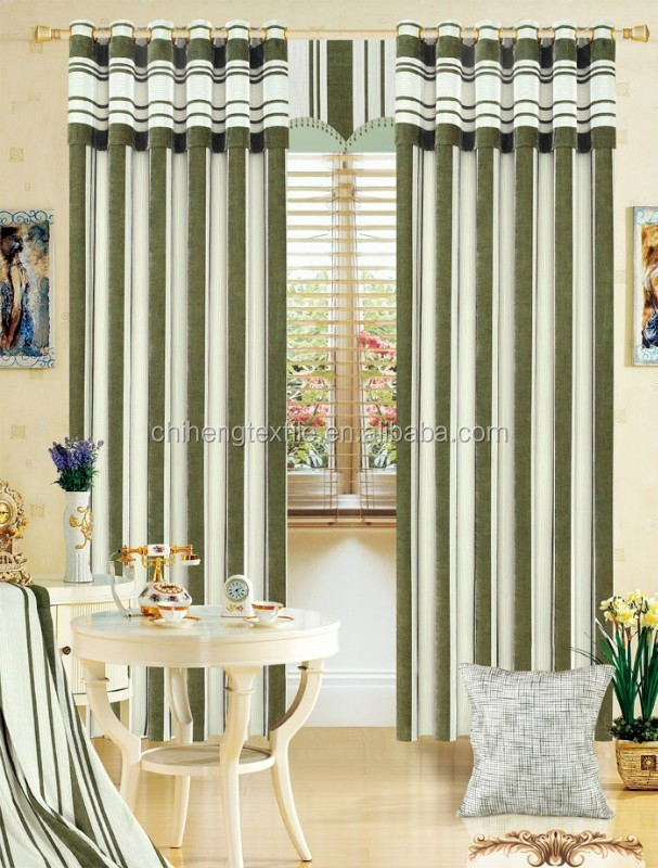 cafe supplies chenille linen fabrics window curtains design