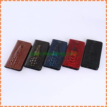 Fashion crocodile head Magnetic Flip Wallet pu Leather case for iPhone5/5S/SE With Card slot