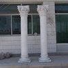 stone carving decorative square wedding columns