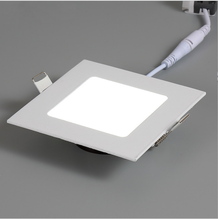 Super bright square led panel light 15w flat office indoor lighting with good price