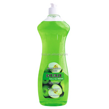 PET bottle dish washing liquid soap with apple flavor
