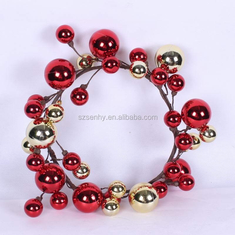xmas ball wreaths decoration decorative artificial funeral wreath