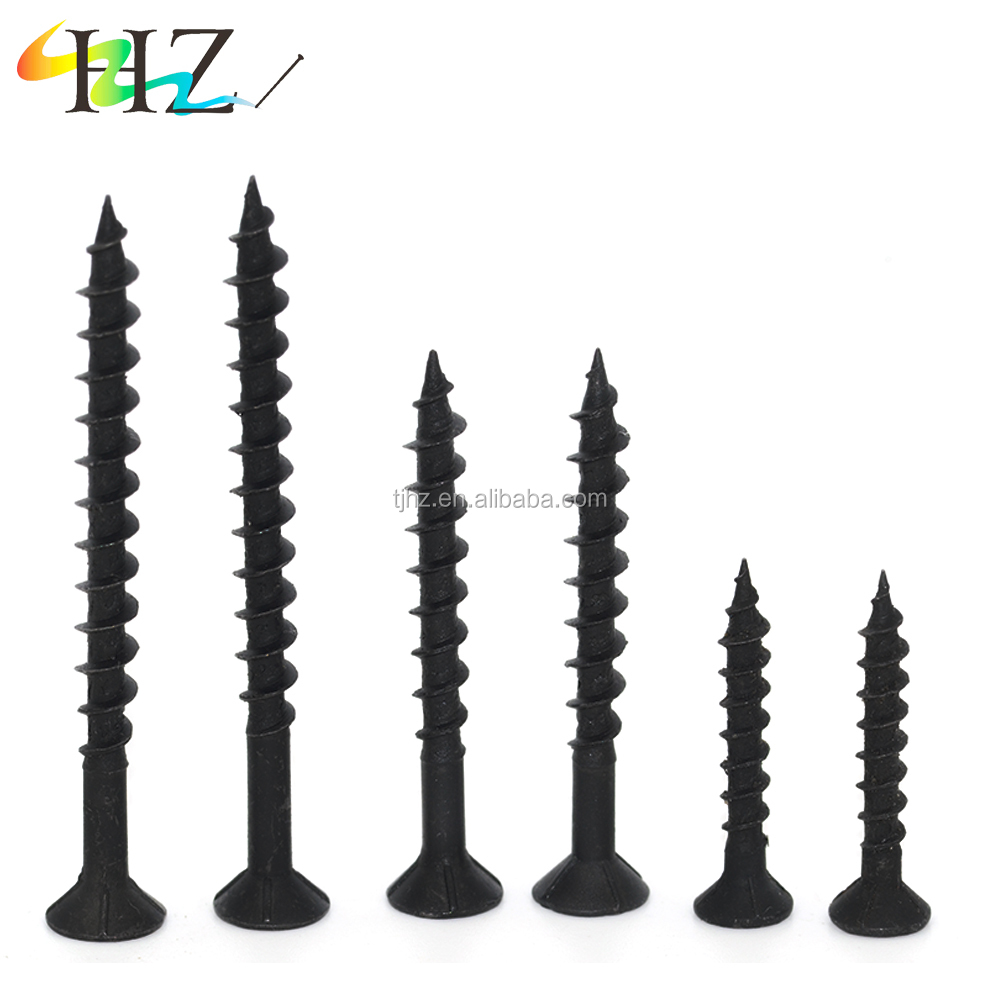 China Wholesale market decorative fasteners phosphated black <strong>drywall</strong> <strong>screw</strong>