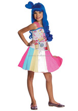 New child katy perry candy costume halloween girl costume QBC-6028