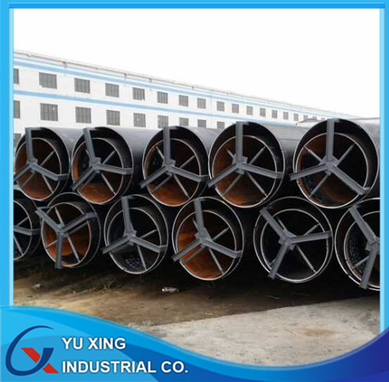 JCOE LSAW welded steel line pipe used for transfer water oil project construction