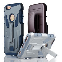 C&T Armor Holster Defender Full Body Protective Hybrid Swivel Belt Clip Case For iPhone 6s plus