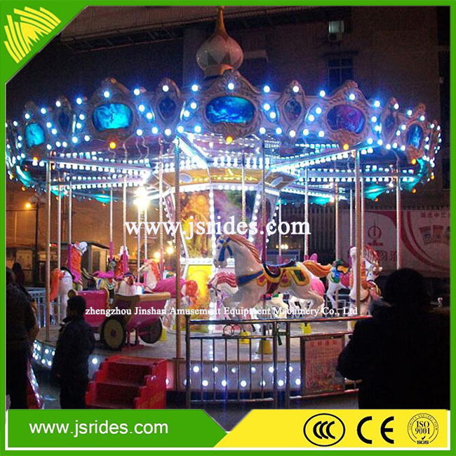 China factory electric operating kids luxury carousel horse for sale