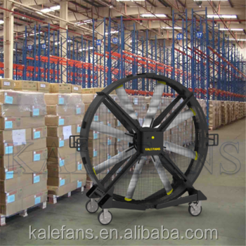 Shanghai Kale 2m Big Sized Warehouse Portable Large Outdoor quiet silent box fan with stand