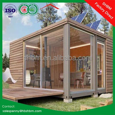 20ft 40ft ready made modern luxury prefab home/ european portable modular home