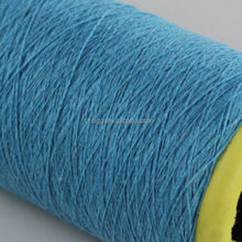 ne 12s Nm 20 combed cotton high tenacity polyester yarn price in india for gloves knitting
