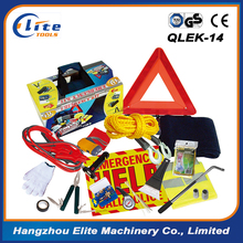 auto safety kit roadside car emergency kit with booster cable factory
