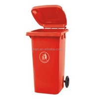 Eco-friendly 240liter plastic cheap trash bin/waste container for outdoor