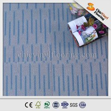 customized healthy, environment protected wear layer, wood grain, carpet, loose lay vinyl flooring