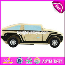 Wholesale cheap wooden toy cars for kids top fashion mini wooden toy cars for kids W04A032