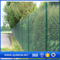New technology anti climb edge bending fence yard guard fence