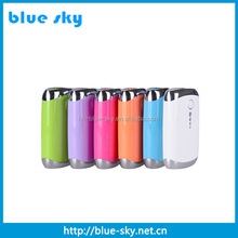 2015 Hot selling best quality mobile smart power bank 2400mah for lenovo k3 note