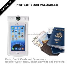 "Universal Waterproof Container for Phone for Swimming with IPX8 Certificated (up to 6"" inch)"