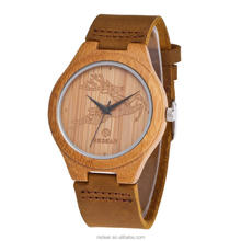 2017 fashion handmade custom logo wrist wooden watches mens women