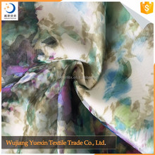New Style Cheap Popular Printed Silk Fabric