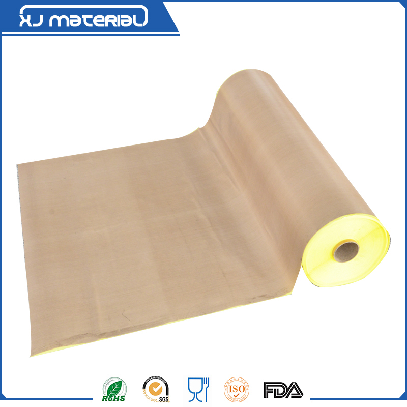 PTFE Teflon Glass Cloth Adhesive Tape with Release Paper