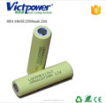 18650 ltihium battery HE4 18650 2500mah battery cell for LG