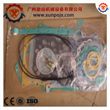 excavator mitsubishi S6K engine parts, S6KT gasket kit 34301-00203