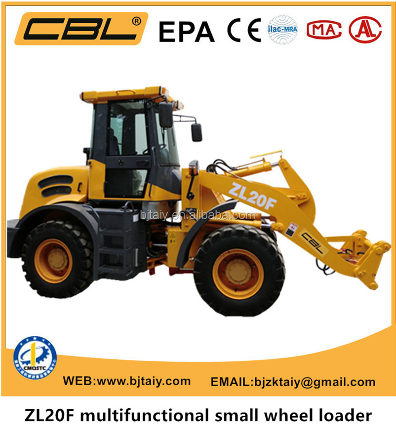 small wheel loader made by China with good quality and competitive price