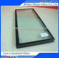 Sound Proof Energy Saving Therma temperedl LOW-E Insulated Glass fill Agron Gas For Windows curtain WALL