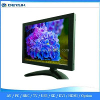 OEM Accepted Factory Supply 8 Inch LED Metal Case LCD Monitor with AV VGA BNC Input
