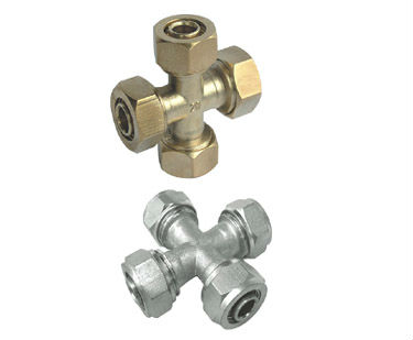 brass cross for multi-layer aluminium plastic pipe