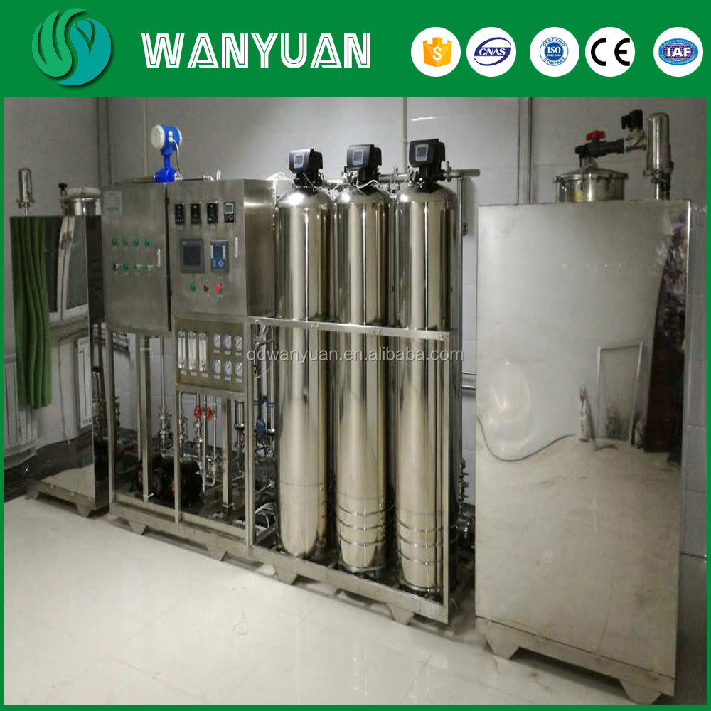PLC control water treatment equipment, drinking water plant for school, drinking water plant for hotel