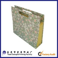 Custom wholesale portable carboard expanding file