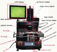 220V power machine for BGA reballing / rework station WDS-650 automatic soldering chip IC machine desoldering station