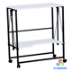 Easy folding kitchen serving trolley cart wholesale