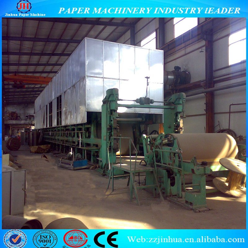 1760mm High Quality Cartoon Paper Making Machine, Paper Recycling Production Line