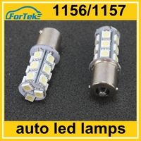 auto car led brake light/stop light bulbs 18smd 5050 1156 P21W ba15s reversing lamp wholesale