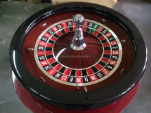 Luxury Casino Gaming professional 32inch solid wood roulette wheel