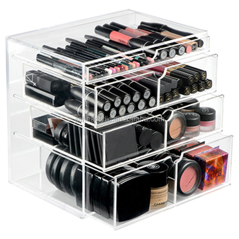 Clear Acrylic Makeup Storage Box - Buy Clear Acrylic Makeup Storage ...