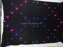 led stage backdrop cloth dmx wedding cloth stage decoration