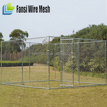 commercial large chain link decorative dog crates kennels
