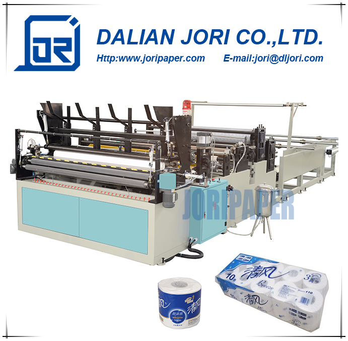Automatic Toilet Paper and Kitchen Towel Tissue Machine