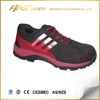 FS1076 cheap fashion light weight casual safety work boots