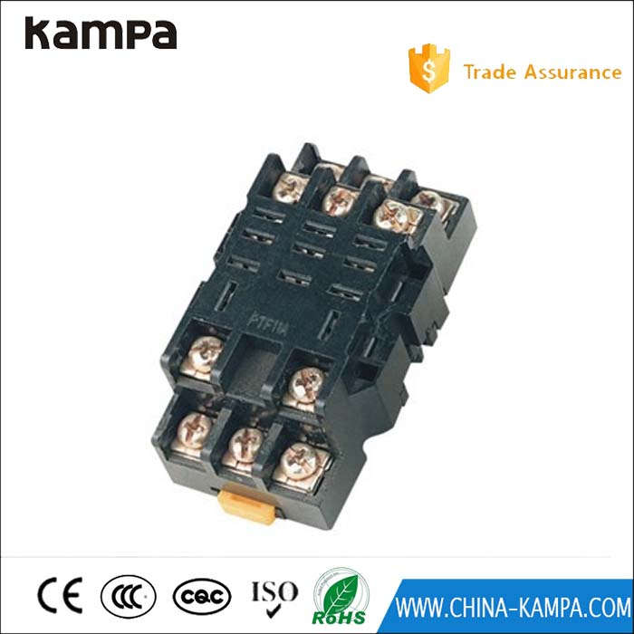 PTF11A 11 pin electromagnetic relay electrical socket