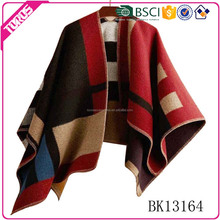 Over 8 years experience factory supply winter poncho, high quality women poncho, wholesale women fashion poncho
