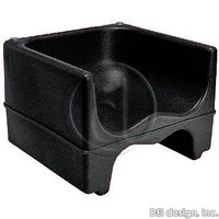 Cambro: Black Dual Height Booster Seat, No Strap, 1 / Pk, 200b